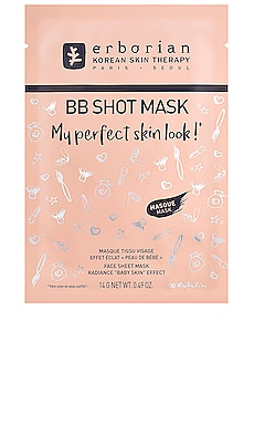 MASQUE VISAGE BB SHOT MASK erborian $8