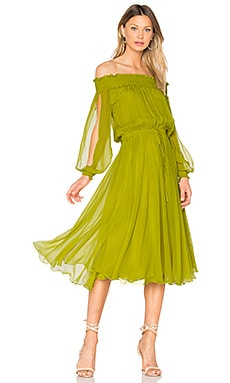 La Boheme Dress in Peridot