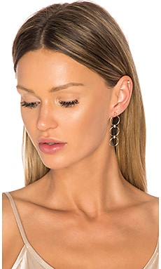 Three Circle Earring