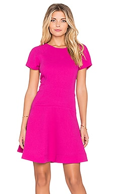 Essentiel Klambee Dress in Hot Pink