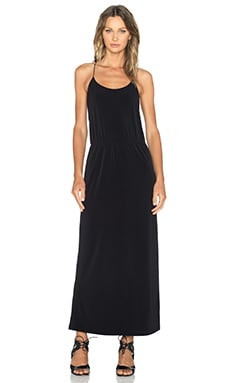 Essentiel Top Basic Maxi Dress in Black