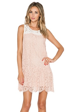 Essentiel Kason Dress in Blush & White