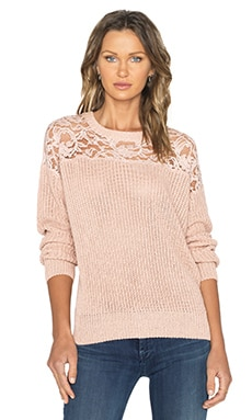 Essentiel Happy Returns Sweater in Peach