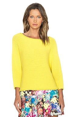 Essentiel Gym Tonic Sweater in Yellow