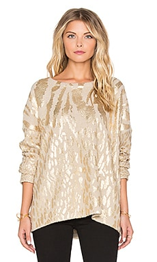 Essentiel Antwerp Antwerp Lasya in Oatmeal & Gold