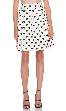 Essentiel Kiriwit Skirt in White & Black