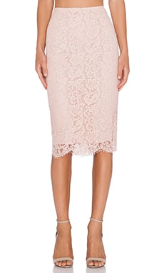 Essentiel Kubus Skirt in Blush