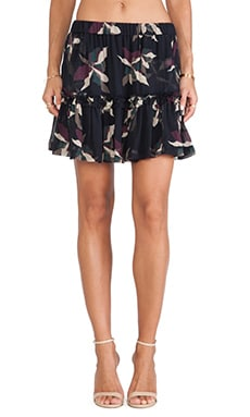 Essentiel Hofla Abstract Flower Skirt in Multi
