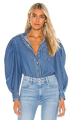 Wingman Puffy Sleeve Shirt Essentiel Antwerp $171 NEW