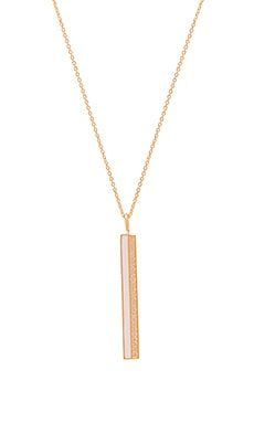 Фото - Ожерелье stone enamel - Elizabeth Stone цвет металлический золотой