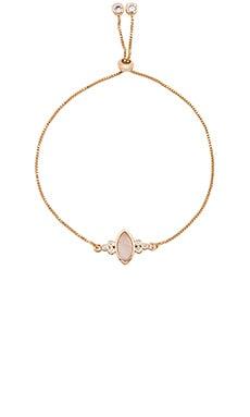 Gemstone Eye Slide Bracelet Elizabeth Stone $62