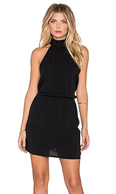 Eternal Sunshine Creations Mackenzie Halter Dress in Jet Black