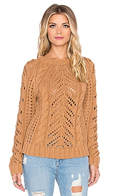 Eternal Sunshine Creations Stella Raglan Sweater Top in Camel