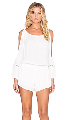 Eternal Sunshine Creations Sofia Romper in White