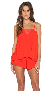 Eternal Sunshine Creations Marrakesh Romper in Poppy Red