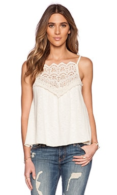 Eternal Sunshine Creations Calypso Tank in Ivory