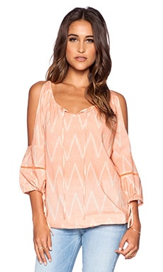 Eternal Sunshine Creations Island Dream Dreamy Cover Up Top in Sandy Peach