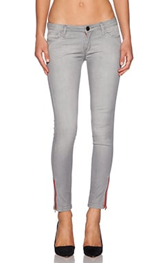 Skinny Denim in Light Grey
