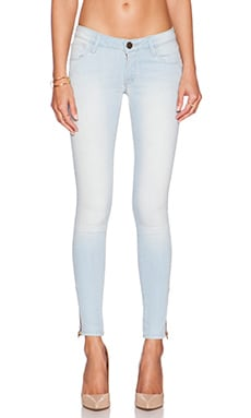 Midrise Skinny Cropped Jeans