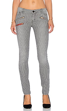 Etienne Marcel Zip Skinny in Stripe