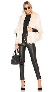 Helena Faux Fur Coat Etienne Marcel $147