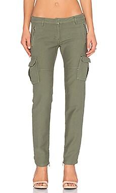 Etienne Marcel Cargo Skinny Pant in Military