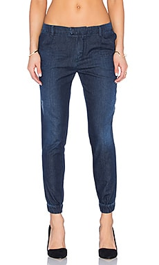 Etienne Marcel Denim Jogger in Dark