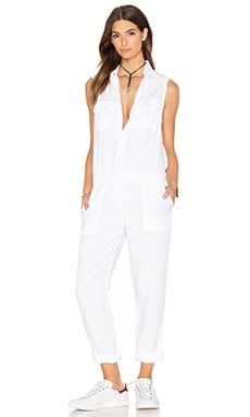 Etienne Marcel Sleeveless Jumpsuit in White