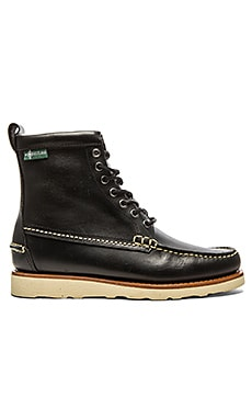 Eastland Sherman 1955 in Black Leather