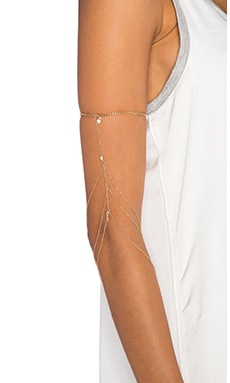 Ettika Arm Band in Gold