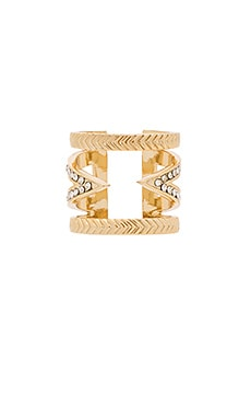 Ettika Pave Ring in Gold