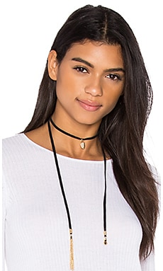 Ettika Choker Necklace in Black