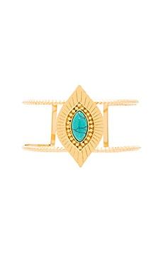 Ettika Cuff in Gold & Turquoise