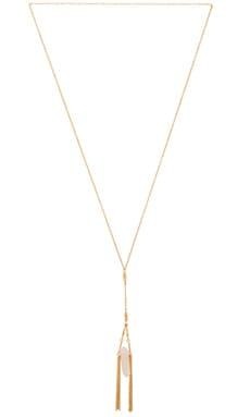 Ettika Fringe Necklace in Gold