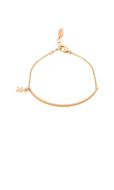 Ettika Star Charm Bracelet in Gold