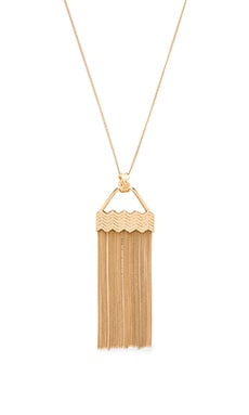 Power Rays Necklace in Gold