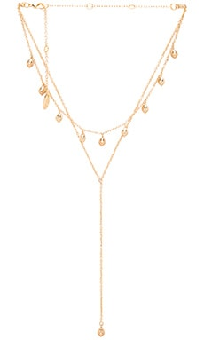 Double Layer Necklace in Gold