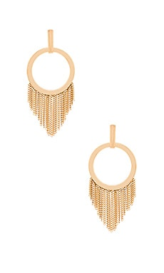 Fringe Earring in Gold