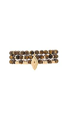 Wood Bead Bracelets