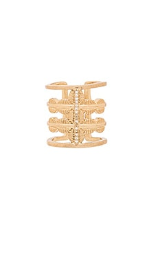 Ettika Stacked Ring in Gold