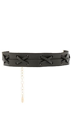 Leather Choker in Black