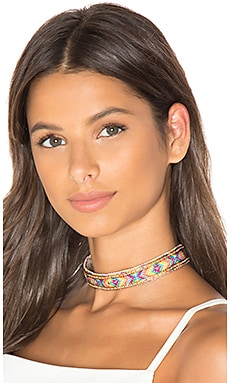Mosaic Choker in Rainbow