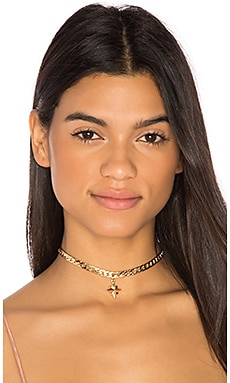 Star Chain Choker en Or