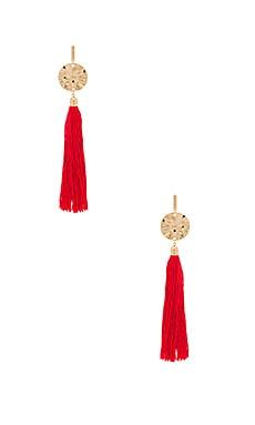 Hanging Tassel Earring