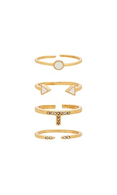 Last Lover Ring Set Ettika $35 BEST SELLER
