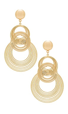 Art Deco Earrings Ettika $25
