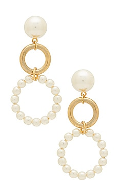 Double Drop Earrings Ettika $35