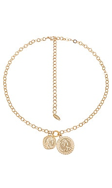 Double Coin Necklace Ettika $45 BEST SELLER