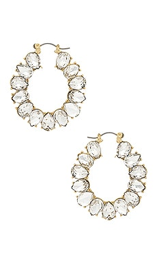 Embellished Hoops Ettika $40 BEST SELLER
