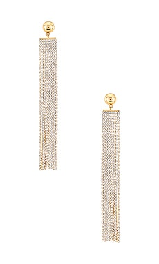 Rhinestone Waterfall Earring Ettika $30